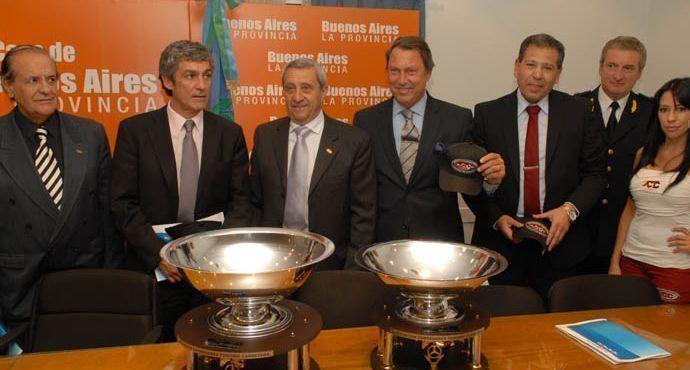 Rubén Gil Bicella, Alejandro Rodríguez, Hugo Mazzacane, Dr. Ricardo Casal, Crio. Insp. Alejandro Spinedi y Crio. Mayor Rubén Pérez.